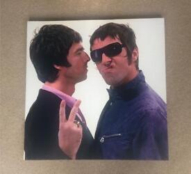Liam & Noel Gallagher Oasis Large Canvas Wall Art