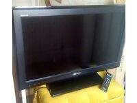 "Sony Bravia Television 32"". Ever so slightly temperamental. £35. Details below. Sutton Coldfield"
