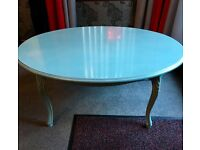 Designer coffee table & side tables