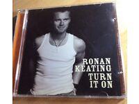 "Ronan Keating ""Turn It On"" CD"