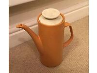 1974 J&G Meakin yellow coffee pot
