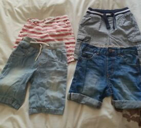 4 pair of boys shorts age 1 and half - 2 years