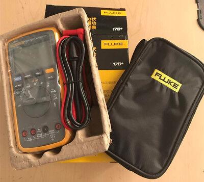 Fluke F17b 17b Digital Multimeter Meter With A Fluke Bag