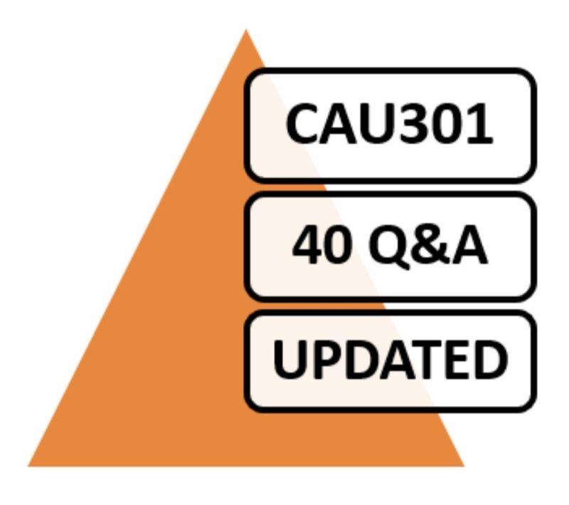 Updated CyberArk Sentry CAU301 Exam 40 Q&A PDF