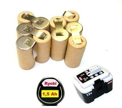 Tauschpack für Original Ryobi Akku 12 V BPN-1213 ></noscript> 1217 mit 1,5...