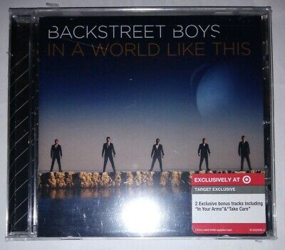Usado, Backstreet Boys - In A World Like This (CD, 2013) Target Exclusive Edition.  comprar usado  Enviando para Brazil