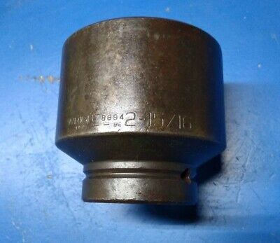 Wright Tool 2-1516 Impact Socket 1 Drive 6-point 8894 Made In Usa