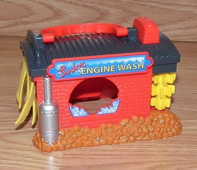 Genuine Thomas & Friends 2010 Sodor Engine Wash Replacement Building Only *READ*