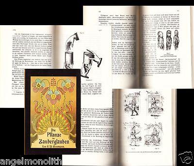 Sammlerstück Hexensalben Zaubertränke Zauberpflanzen Formeln Hexen Kräuterbuch x