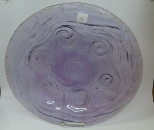 Consolidated Glass Amethyst 1 Platter 15""