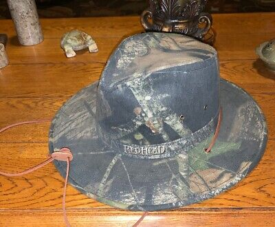 Red Head Mens XL Camouflage Outback Hunting Fishing Outdoors Safari Hat