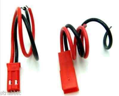5 Paar JST Stecker 100mm Kabel Stecker Buchse 2Pin JST BEC Lipo Akku