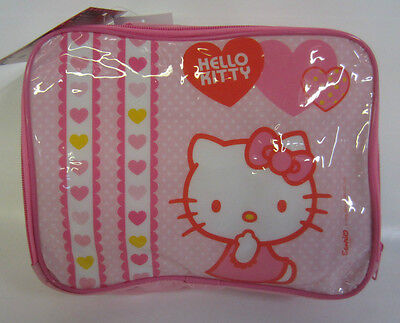 123002- Hello Kitty Lunch Bag With Sports Bottle And Snack C