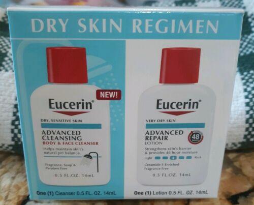 Eucerin Advanced Repair Ceramide Lotion Body Face Cleanser F