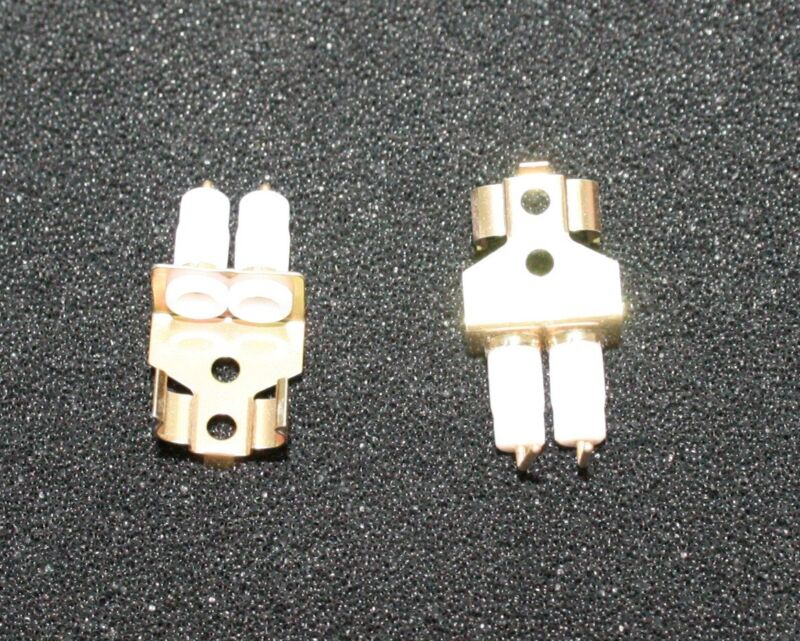 HC-18 Crystal Resonator Socket  - Lot of 2