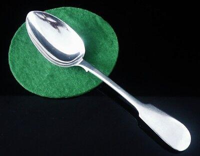Scottish Provincial Silver Dessert Spoon, Robert Keay of Perth 1853