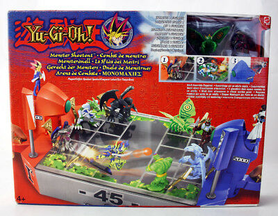 VERY RARE 2003 YU GI OH MONSTER SHOOTOUT BATTLE ARENA PLAYSET MATTEL NEW SEALED!
