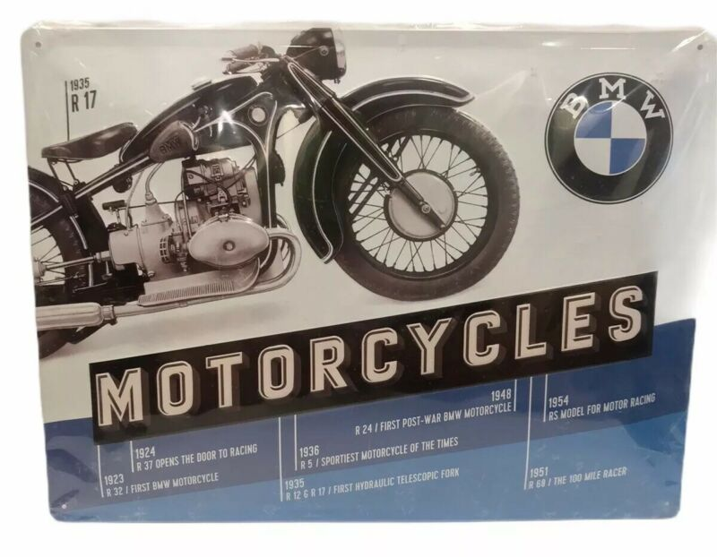 BMW Motorcycles 15x12 1923-1951 Large Official Wall Sign R32 R37 R12 R17 R5