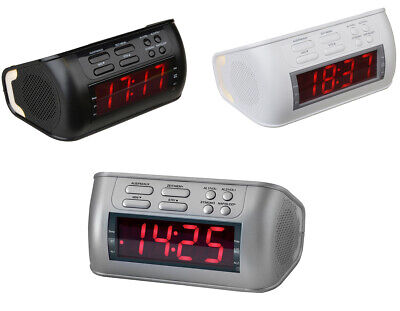 Terris Radiowecker RW 234 Radio Wecker Uhr Uhrenradio Sleep-/Nap PLL LCD Display (Wecker Großes Display)