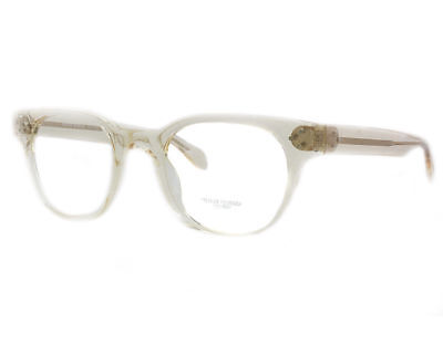 Oliver Peoples Rx Eyeglasses Frames Afton OV5236 1094 49x22 Light Clear Yellow