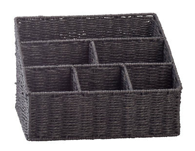 Wicker Mail Sorting Basket