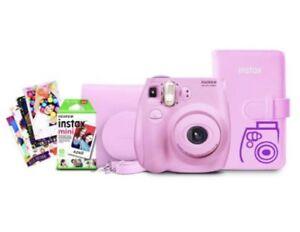 f61d5c99c3d8 Fujifilm Instax Mini 7S Instant Camera Bundle - Light Piink for sale ...