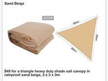 Triangle Shade Canopy Canada Bay Canada Bay Area Preview