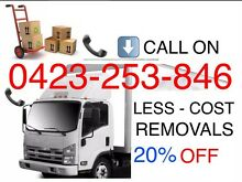 LESS COST FURNITURE REMOVALS just $27/H••• Cheap Fast Reliable Blacktown Blacktown Area Preview