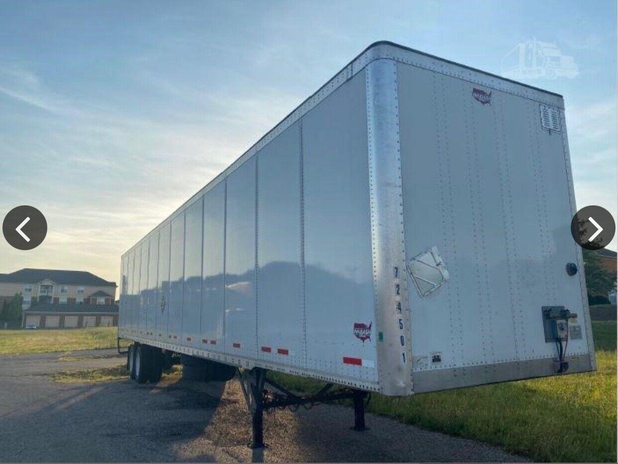 53 ft dry van trailer 2018 wabash swing doors air suspension