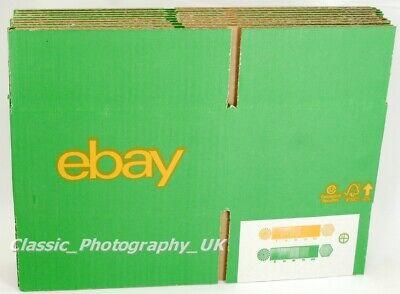 "eBay Branded 15 Cardboard BOXES W:205 x D:150 x H:110mm / 7.87"" x 5.9"" x 3.93"