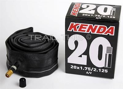 "Kenda 20"" x 1.75 /1.95/2.125 Schrader Valve BMX Bike Tire Inner Tube Recumbent"