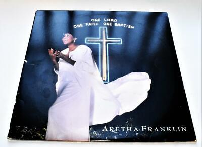 Aretha Franklin One Lord One Faith One Baptism 1987 Gospel Soul 2 LPs Strong