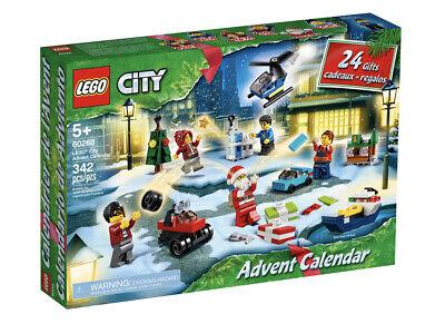 LEGO City - Advent Calendar - 60268 - 342-Pcs - Ages 5+ - New Sealed