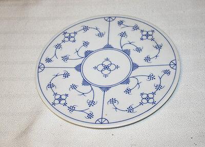 Vintage Rare Trivet Kahla Blau Saks Germany Blue Pattern
