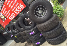 4x4 Tyres and wheels Mud Tyres all brand available Fawkner Moreland Area Preview