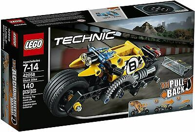 New! LEGO Technic Pull Back STUNT BIKE 42058 SEALED Box 2017 Free Shipping!