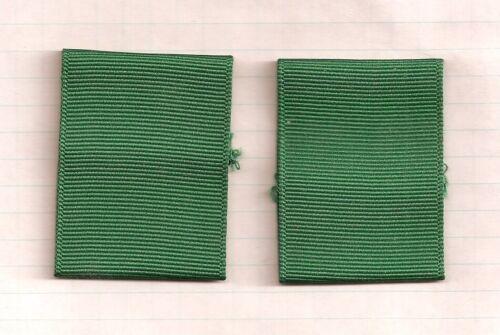 BSA EXPLORER SCOUT & LEADER GREEN SHOULDER EPAULET LOOPS UNIFORM SHIRT 1 PAIR