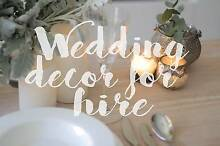 Wedding Decoration Pack - Cut glass, Moroccan textures - Rent Erskineville Inner Sydney Preview