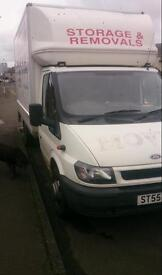 55 plate transit luton with tail lift