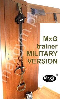 MaxGym® Original Suspension Schlingentrainer Türanker carabiner SlingTraining s