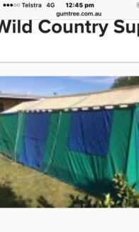 Majestic 3 room canvas tent  sc 1 st  Gumtree & Brampton 3 room tent | Camping u0026 Hiking | Gumtree Australia ...