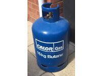 15KG CALOR GAS BOTTLE FOR BBQ £10