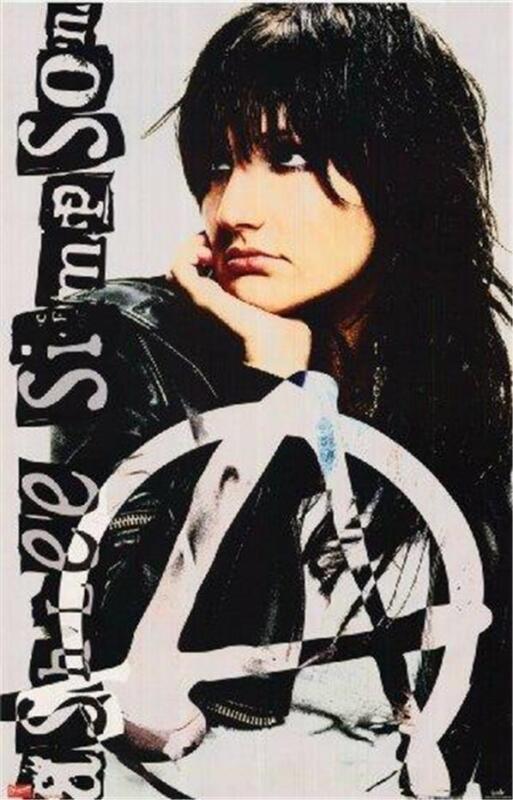 Ashlee Simpson Anarchy 2005 Rare  Poster