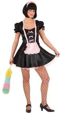 Damen Sexy French Maid Kostüme (sexy Stubenmädchen Damen Kostüm French Maid Karneval Fasching )