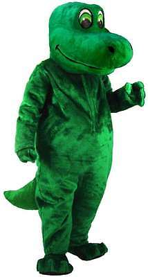 Happy Dino Professional Size Lightweight Mascot Costume Adult Size (Adult Dino Costume)