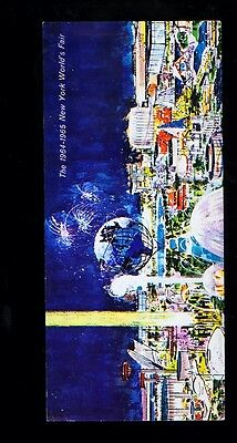 1964 New York World's Fair official unused greeting card #8