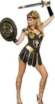 Womens Sexy Gladiator Queen Of Swords Medieval Warrior Halloween - Warrior Queen Sexy Kostüm