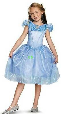 Cinderella Halloween Costume 3t (NWT-Tod Girls Disney Cinderella Princess Dress & Purse Halloween Costume-)