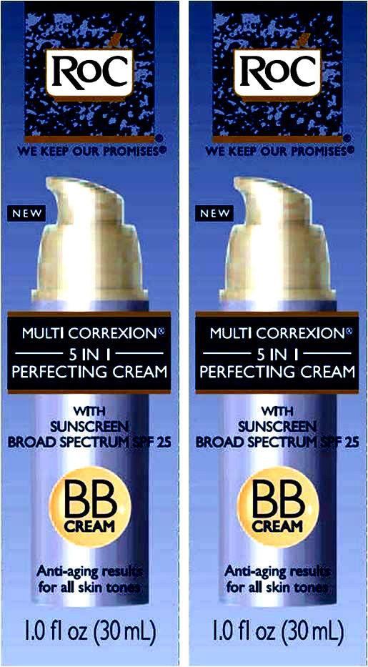 2 Roc Multi Correxion 5 In 1 Perfecting Bb Cream / 2 Lot