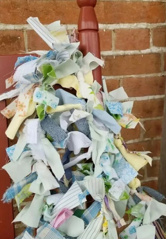 3 + Ft SPRING Preview Rag Shabby Garland EASTER Farmhouse rustic Our 12th year!